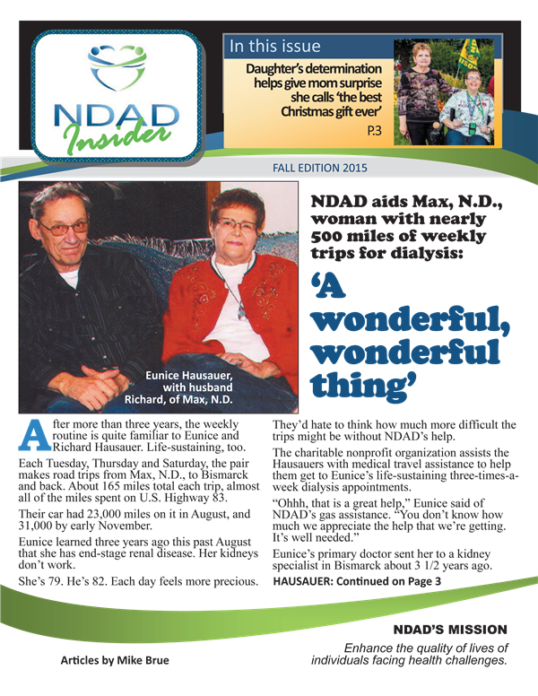 NDAD Insider Fall 2015 cover