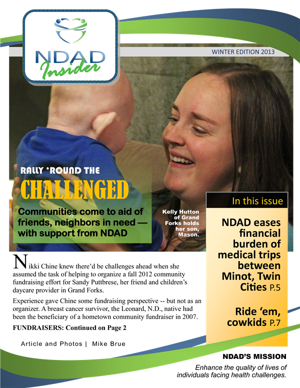 NDAD Insider Winter 2013 cover