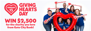 Nominate NDAD by Feb. 4 in Gate City Bank's Giving Hearts Day giveaway