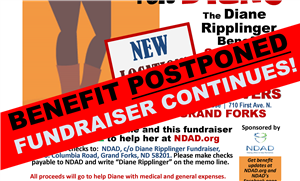Diane Ripplinger benefit postponed, but fundraiser continues