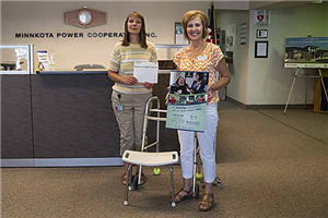 Minnkota Power employees give $500 to NDAD