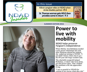 Be an Insider with NDAD's latest newsletter