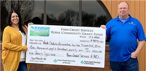 NDAD's Williston operations awarded grant from Farm Credit Services